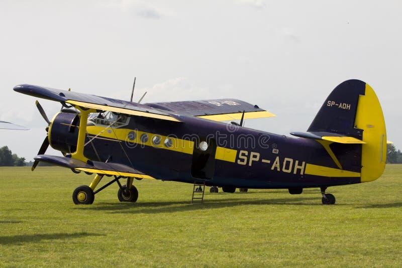 Antonov een-2 royalty-vrije stock foto's