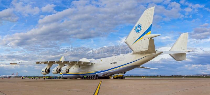 Antonov 225 Mriya zdjęcia stock