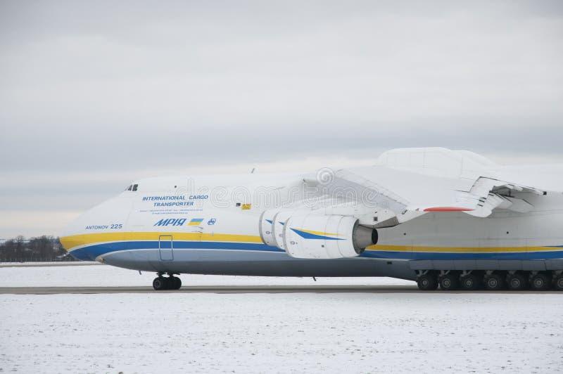 Antonov An-225 Mryja стоковые фото