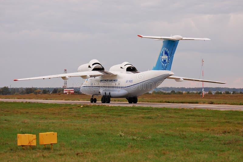 Antonov An-74T UR-74010 (Antonov Design Bureau) stock photo