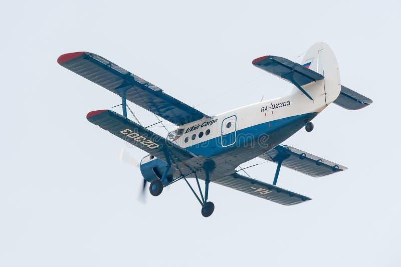 Antonov un aeroplano 2 foto de archivo