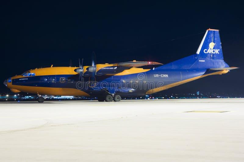 Antonov uns 12 imagem de stock royalty free
