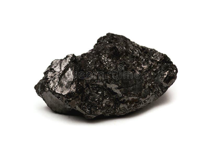 Antraciet - harde steenkool stock afbeelding