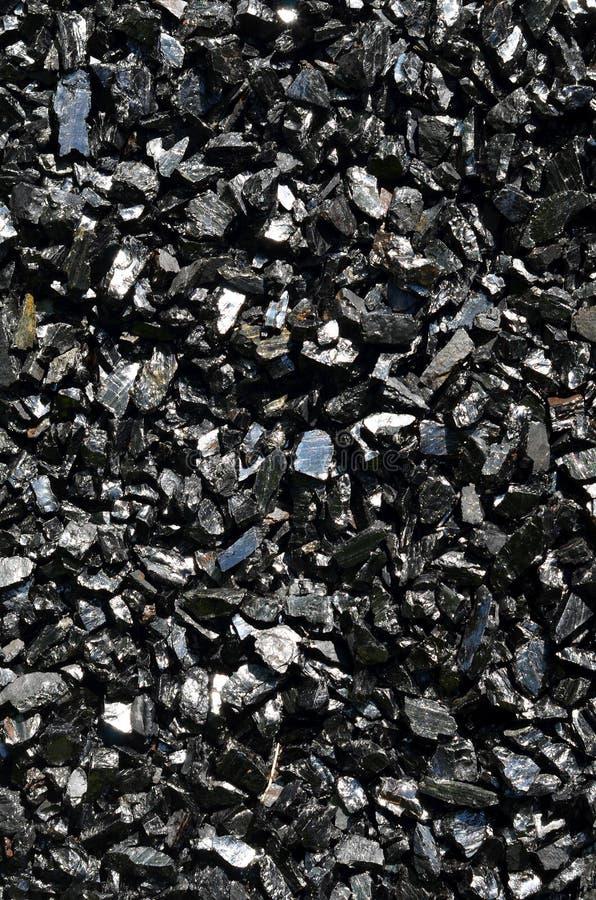 Antracita del carbón en bulto imagen de archivo libre de regalías