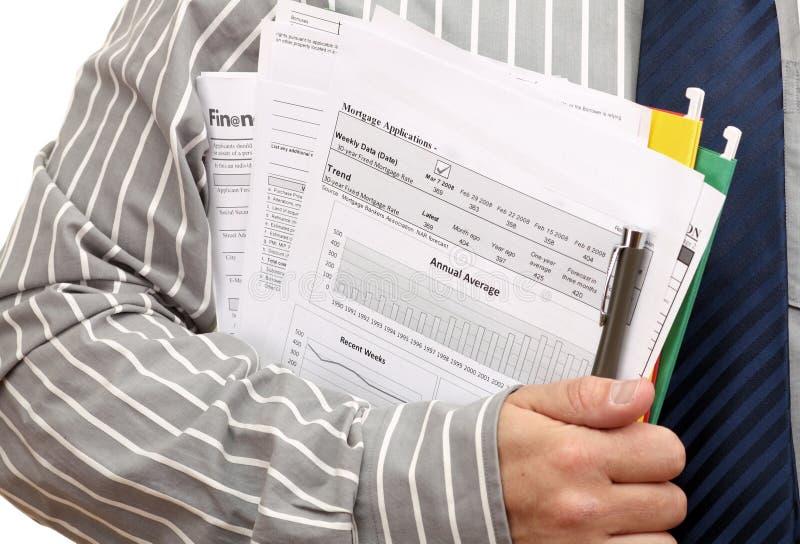 Antrag auf Hypothekendarlehen lizenzfreies stockfoto