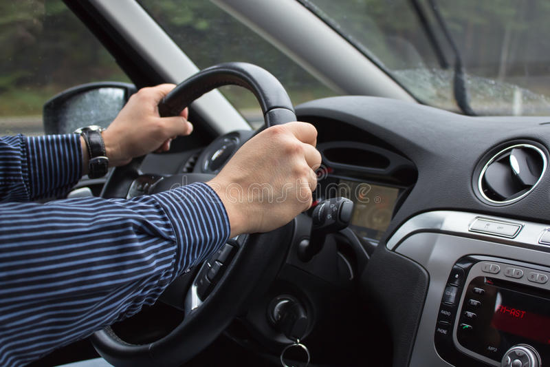 Antreiben einer Car lizenzfreies stockfoto