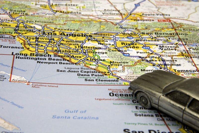 Antreiben von Los Angeles stockfoto