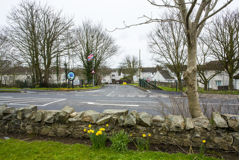 Antrim Irlanda del Nord fotografia stock
