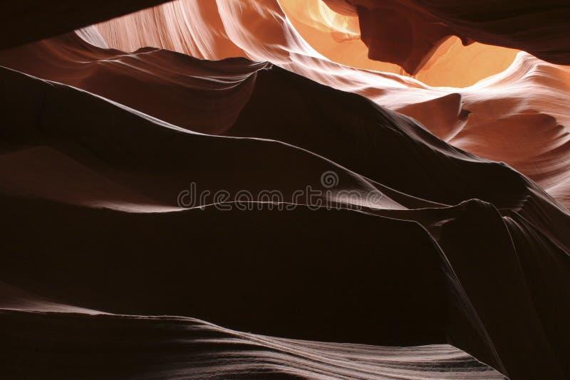 Antrlope Canyon-2 fotografia de stock