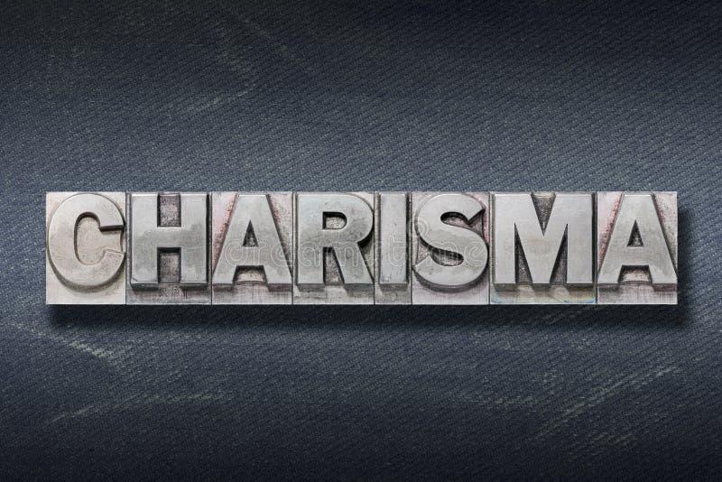 Antro da palavra do carisma imagem de stock