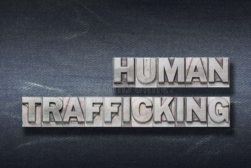 Antro de tráfico humano fotografia de stock royalty free