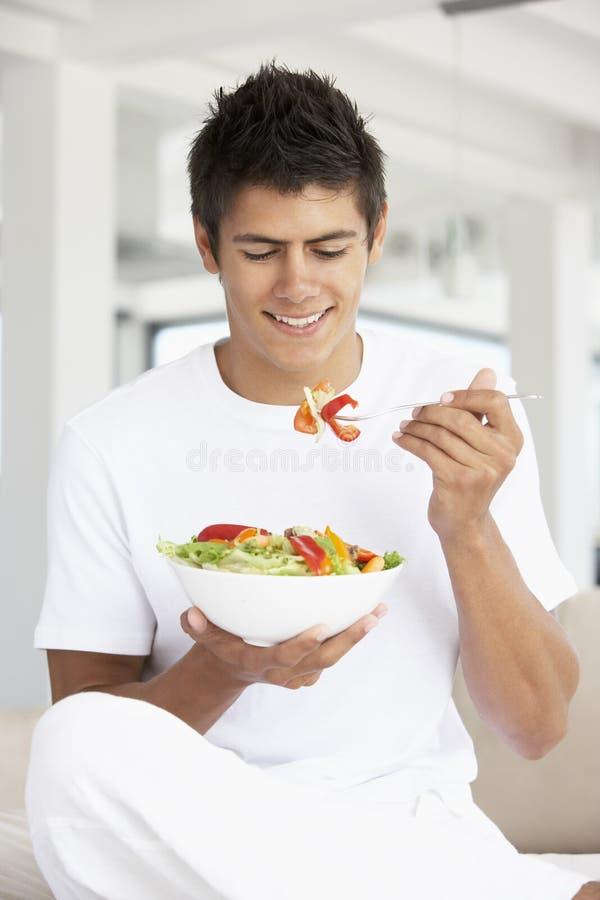 Antropófago novo uma salada fotografia de stock royalty free