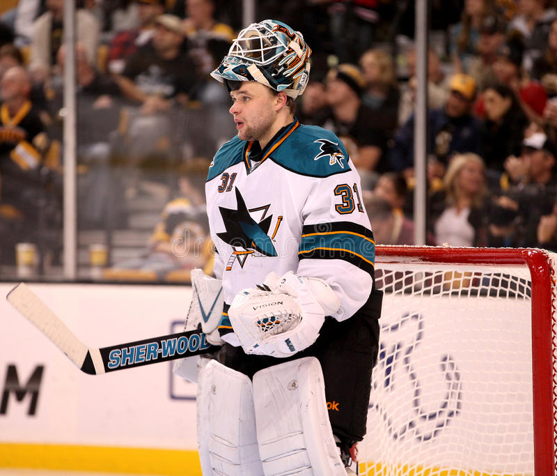 Antti Niemi San Jose Sharks royalty free stock photography