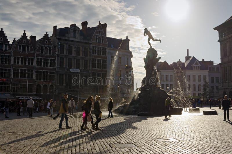 Antwerp arkivbild