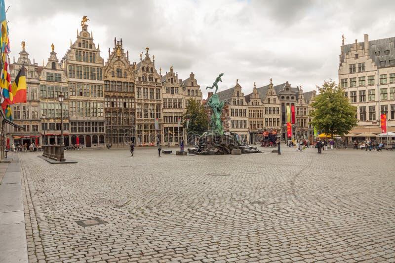 Antwerp architektura i budynek obraz royalty free