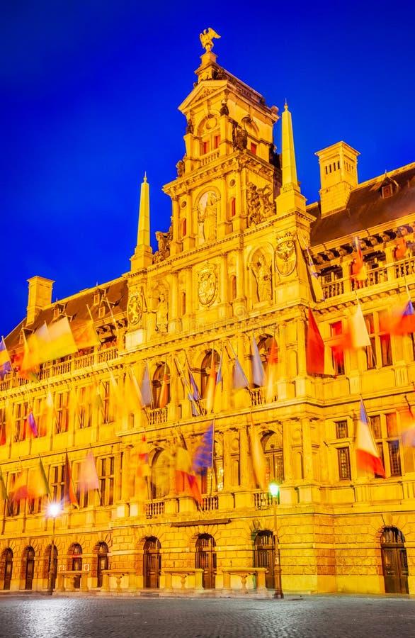 Antwerp, Belgium - Grote Markt stock photo