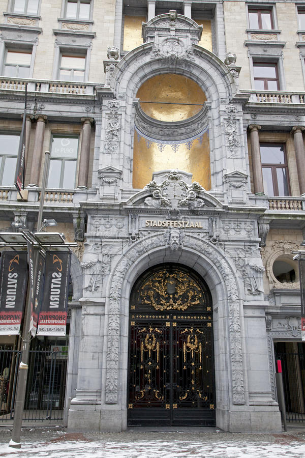 Antwerp architecture royalty free stock image