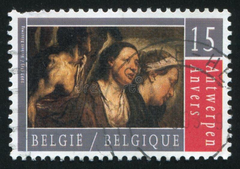 Antwerp Cultural Europe royalty free stock image