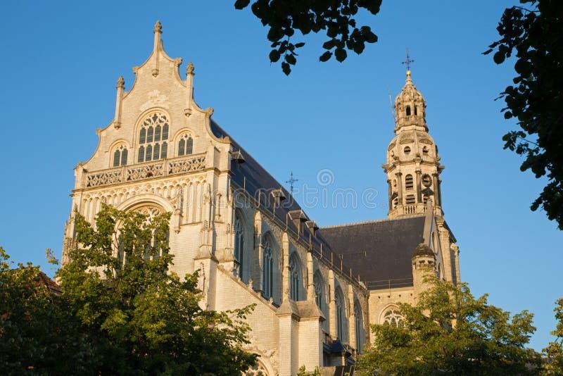Antwerp - St. Pauls kościół (Paulskerk) obraz stock