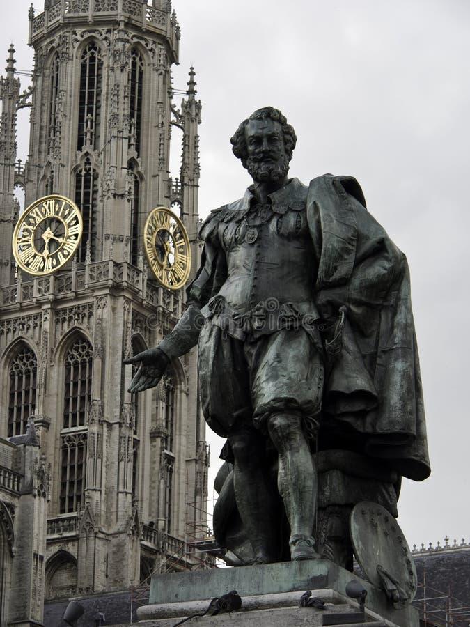 Download Antwerpen stock afbeelding. Afbeelding bestaande uit haven - 54075819