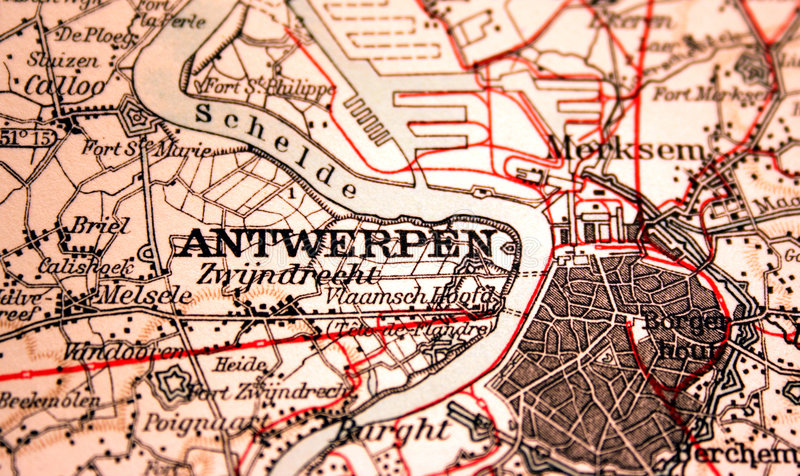 Antwerpen, Bélgica fotos de archivo