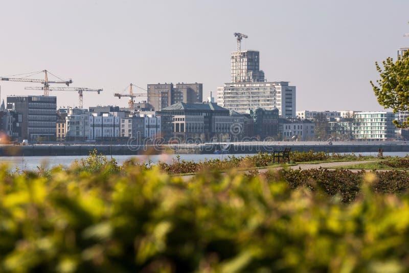 Antwerpen Belgium pogodny pejza? miejski zdjęcie royalty free