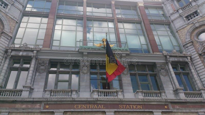 Antwerpen, estação de Centraal imagem de stock