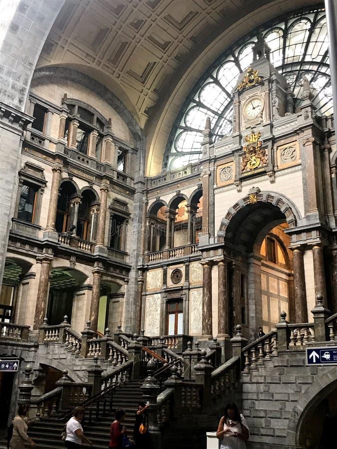Antwerpenpost royalty-vrije stock afbeelding
