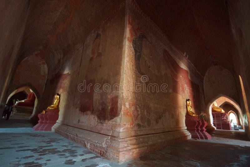 Antyczna świątynia Bagan, Birma, Azja obrazy stock
