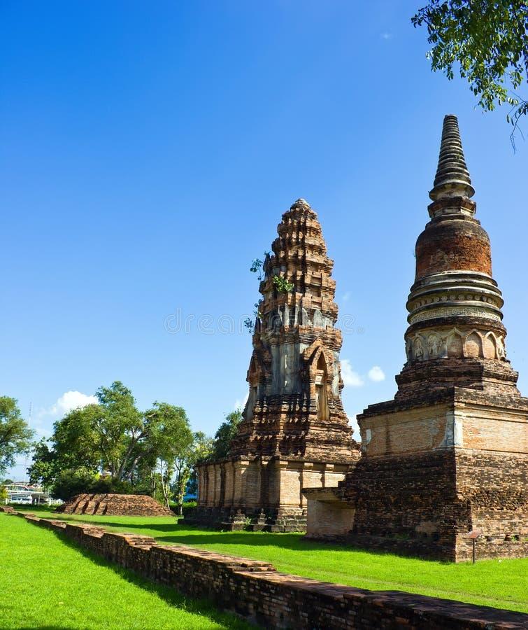 Antyczna świątynia, Phra Si Rattana Mahathat obrazy royalty free