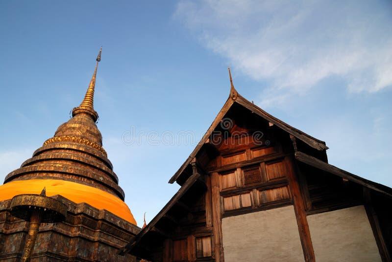 Antyczna świątynia w Thailand obraz stock