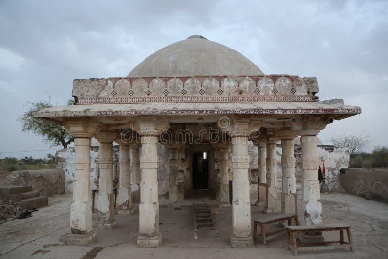 Antyczna świątynia w Thar, Sindh fotografia stock