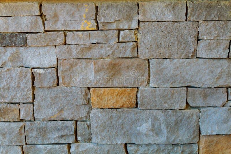 Antyczna antykwarska kamienna ściana budynek fasada fotografia stock