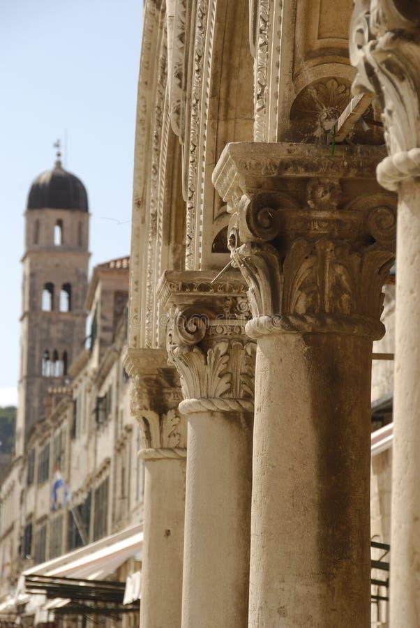 Antyczna architektura w Chorwacja obraz royalty free