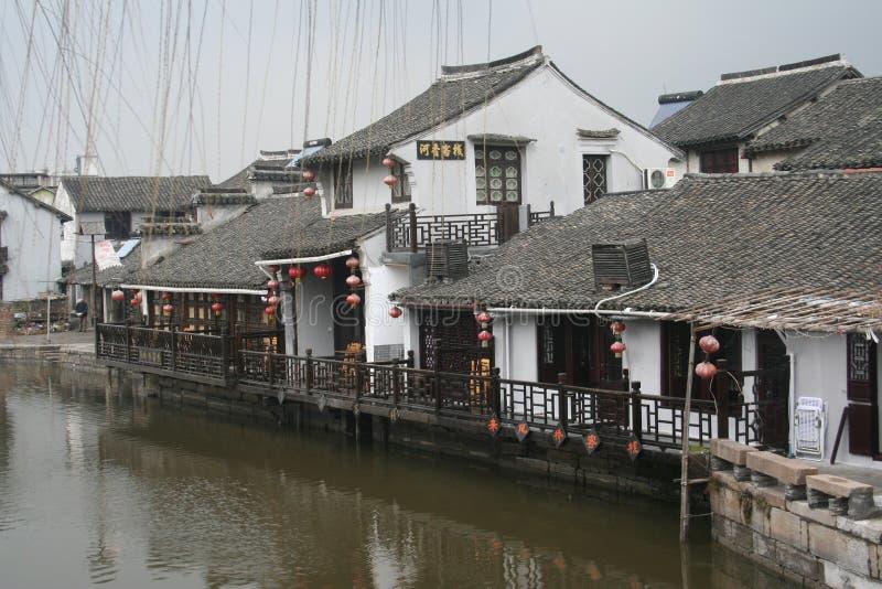 Antyczna architektura z Chińskimi właściwościami! fotografia stock