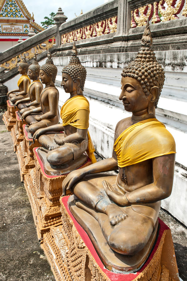 Antyczna Buddha statua obrazy stock