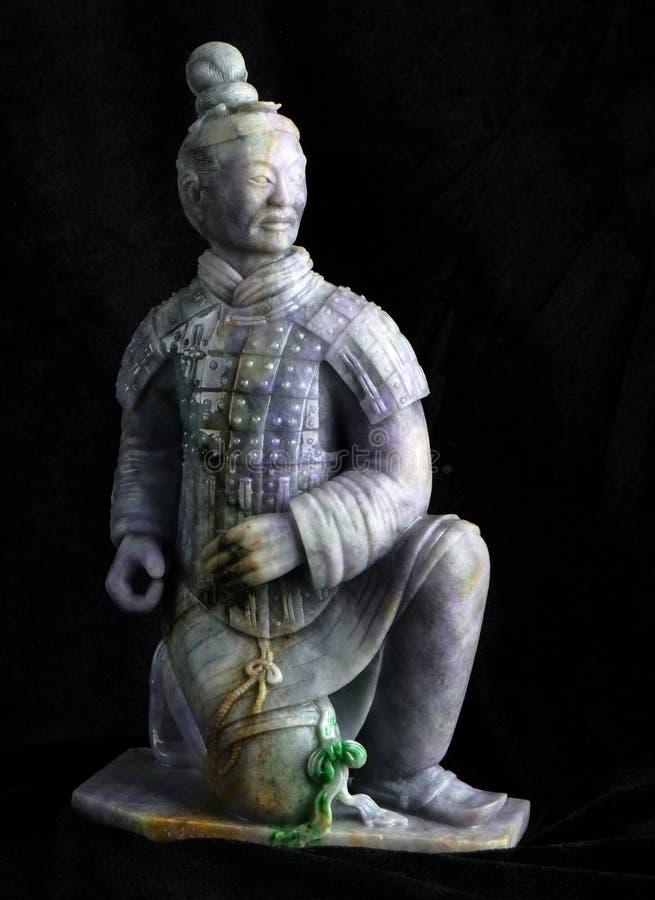 Antyczna chabeta cyzelowania sztuka cotta obraz stock
