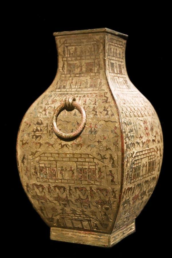 antyczna chińska waza obraz royalty free