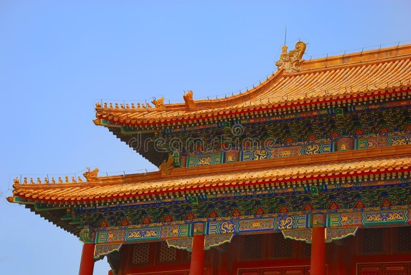antyczna dachowa świątynia obrazy royalty free