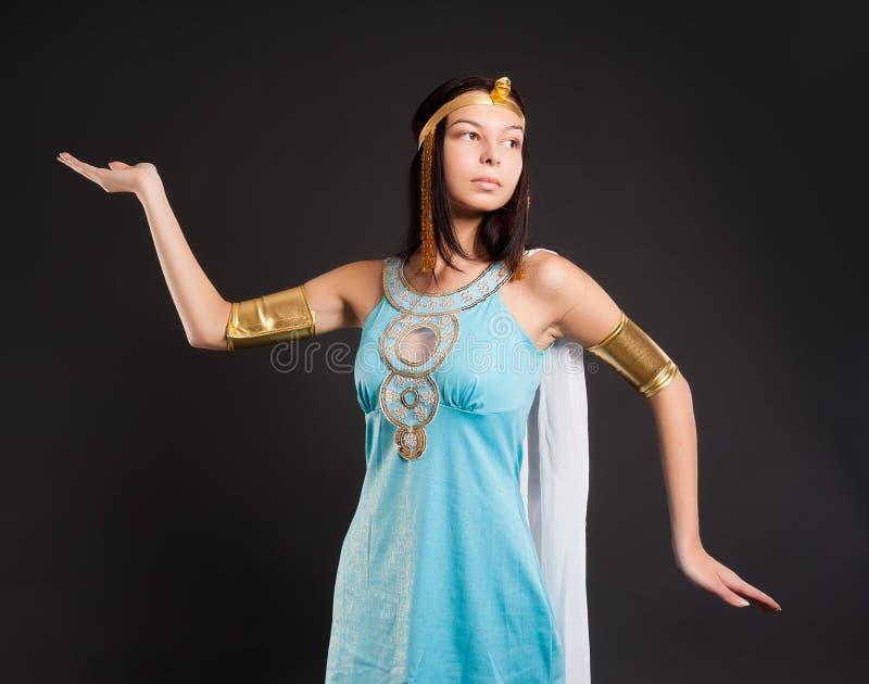 Antyczna Egipska kobieta - Cleopatra obraz stock