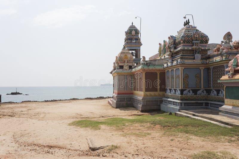 Antyczna hinduska świątynia w Trincomalee zdjęcia royalty free