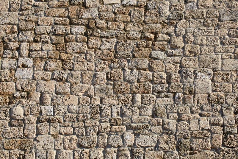 Antyczna kamienna ściana amfiteatr zdjęcie royalty free