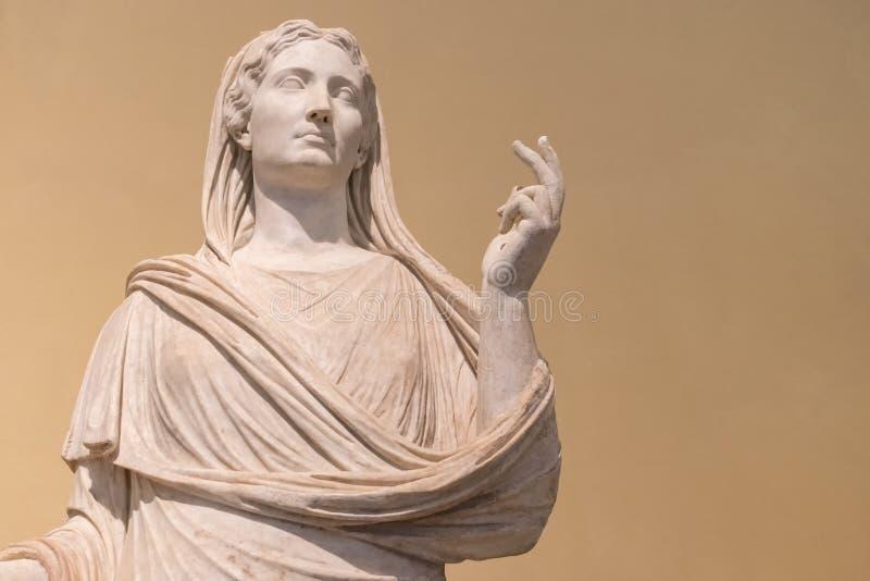 Antyczna marmurowa statua kobieta fotografia royalty free