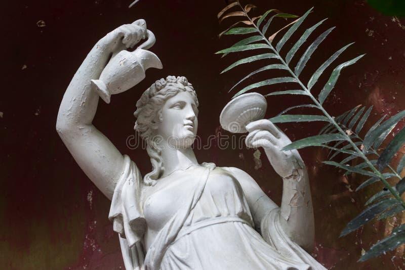 antyczna marmurowej statuy kobieta obrazy stock