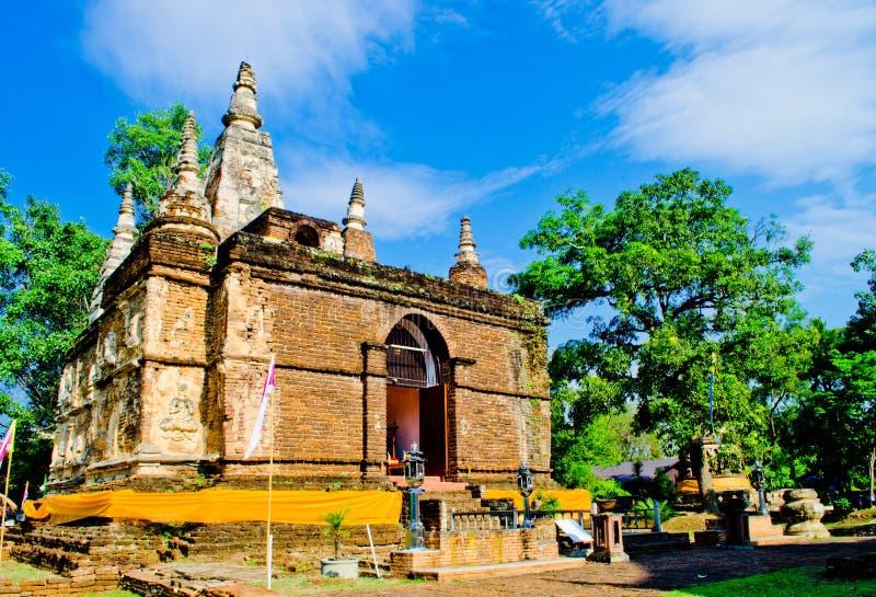 antyczna pagodowa świątynia obraz royalty free