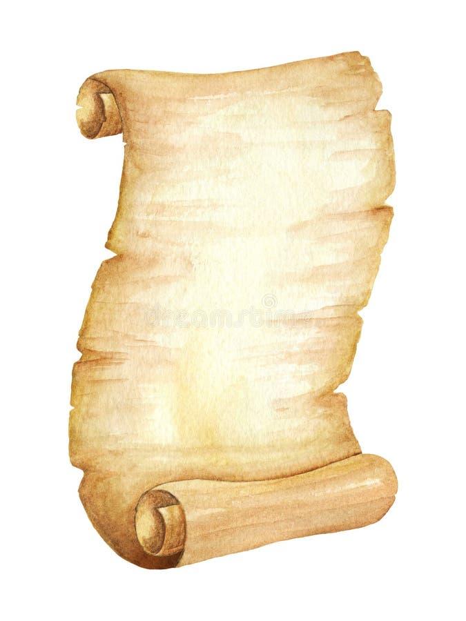 Antyczna Rękopiśmienna ślimacznica beak dekoracyjnego latającego ilustracyjnego wizerunek swój papierowa kawałka dymówki akwarela ilustracji