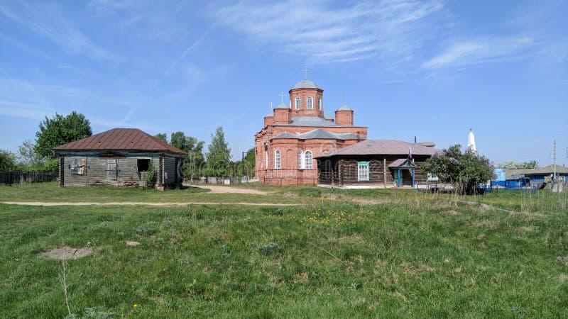 Antyczna rosyjska świątynia obrazy royalty free