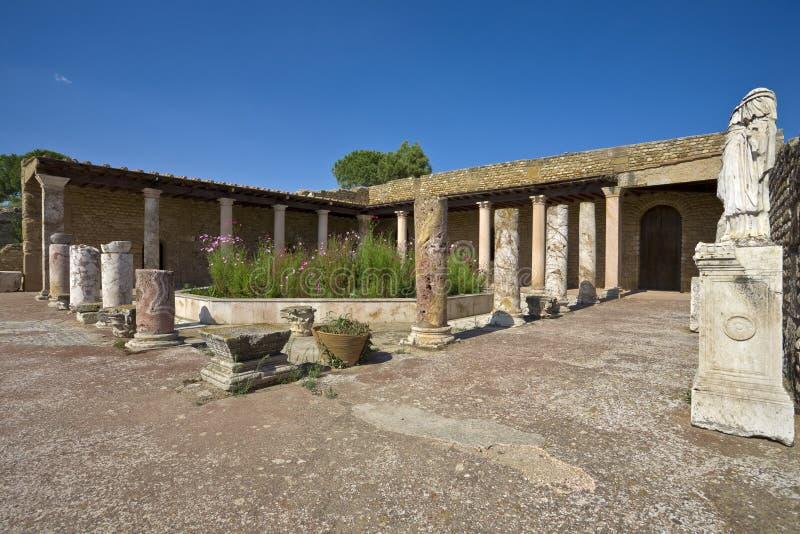 antyczna rzymska willa zdjęcia royalty free