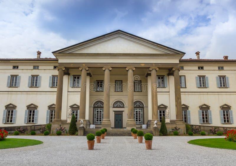 Antyczna Włoska willa obraz royalty free