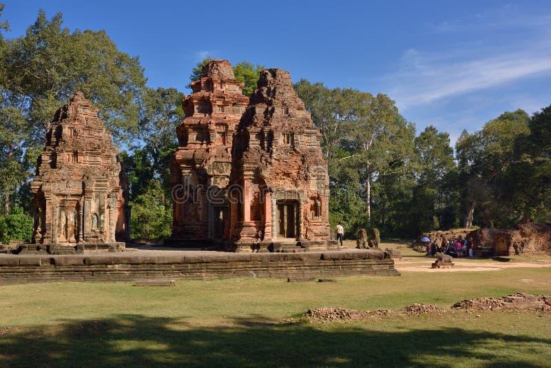 Antyczne świątynie obrazy stock